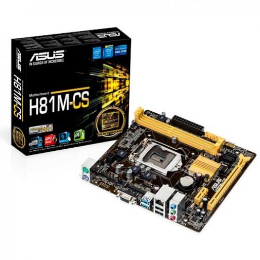 Asus H81 M-CS Mother Board
