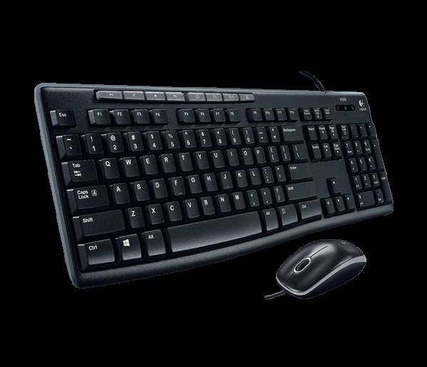 Keyboard Mouse Logitech (MK200)