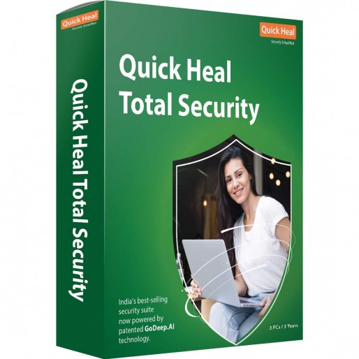 Quick Heal Total Security 5 User 3 Year