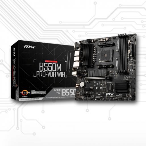 MSI B550M PRO-VDH WI-FI Motherboard