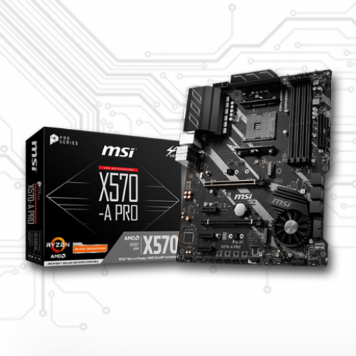 MSI X570-A PRO AM4 Motherboard