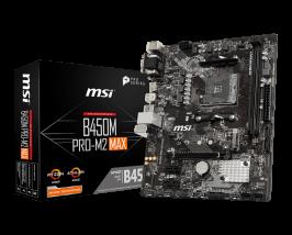 MSI B450M Pro-M2 MAX