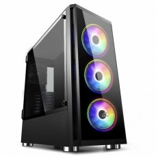 Ant Esports ICE-400TG Mid Tower Gaming Cabinet Computer case