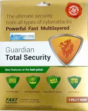 Quick Heal Guardian Total Securities  1 User 1 Year